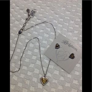 "Brighton NWT necklace ,earrings  ""Rendezvous"""